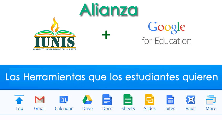 Alianza IUNIS - Google for Education