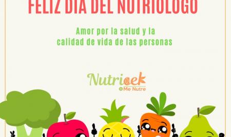 Feliz Día del Nutriólogo – 27 Enero 2021