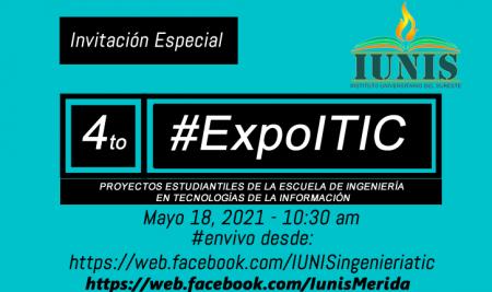 ExpoITIC Mayo 2021 – Ingeniería en Tecnologías de la Información